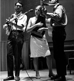 Polly and the Valley Boys in concert