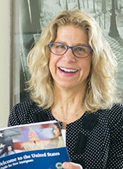 Cindy Aden, State Librarian, Washington State Library