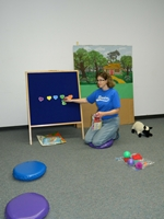 storytime for children with Autism Spectrum Disorder